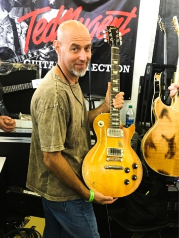 59 Less Paul Owned by Ted Nugent at the Dallas Guitar Festival 2017