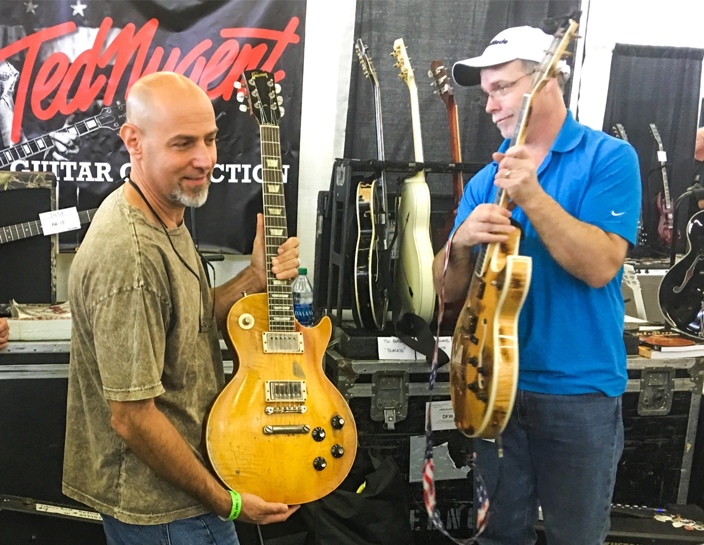 59 Les Paul Ted Nugent Dallas Guitar Festival 2017