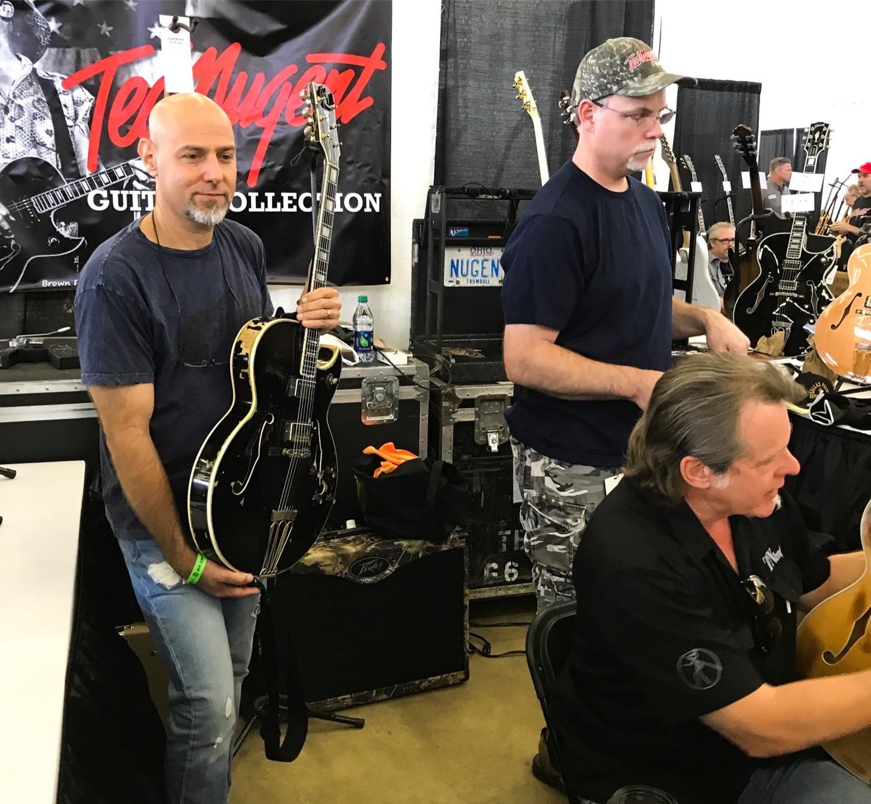 Dallas Guitar Festival 2017 Ted Nugent