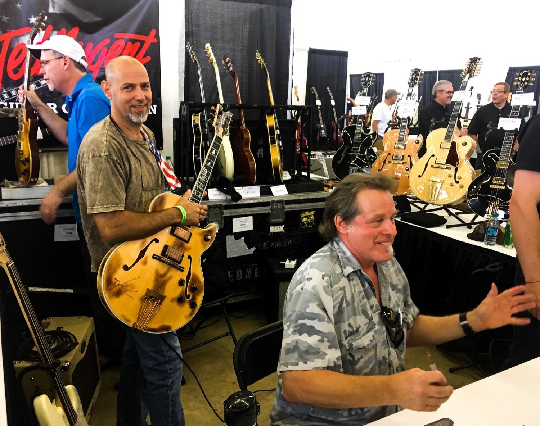 Ted Nugent Dallas Guitar Festival 2017