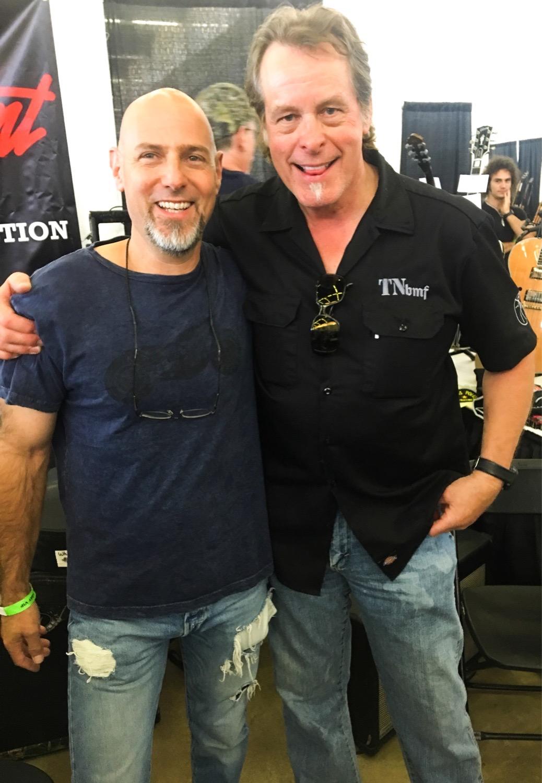 Ted Nugent with Steve Byrdman Lewis, Dallas Guitar Festival 2017