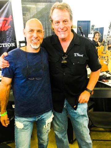 Steve Lewis, Byrdman, Ted Nugent Dallas Guitar Festival 2017