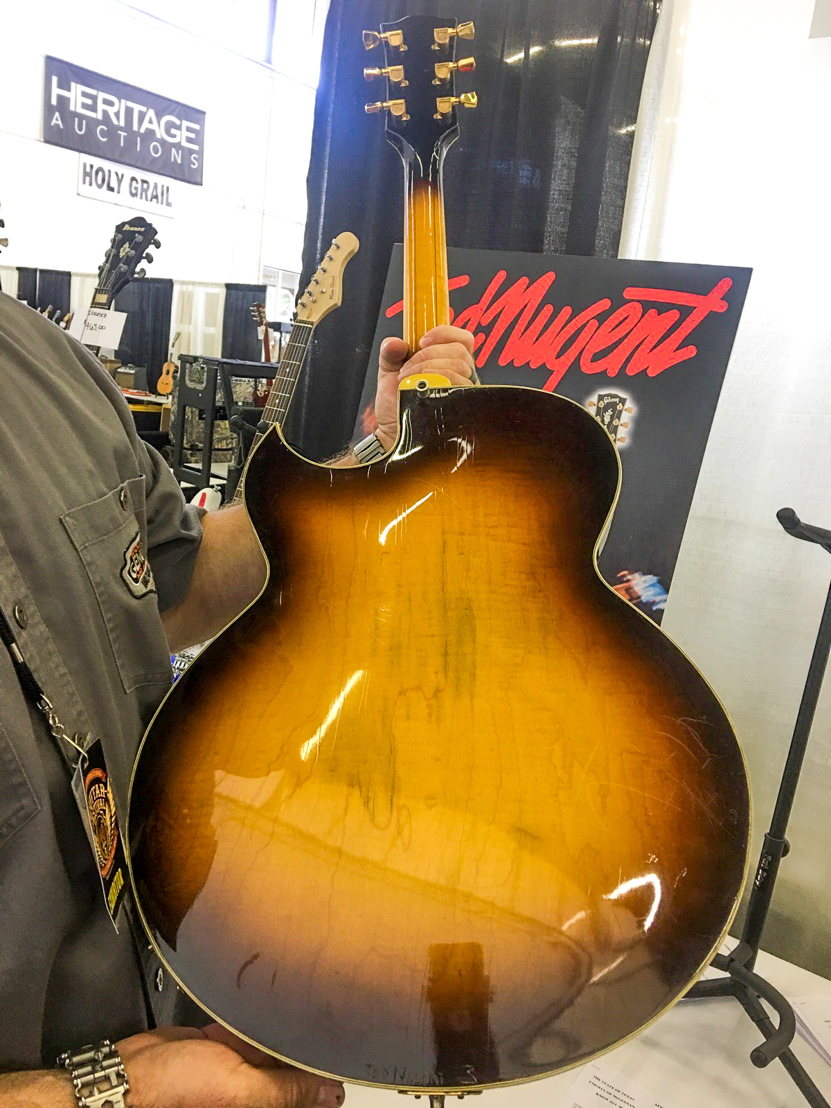 gibson byrdland guitar #3 Ted Nugent