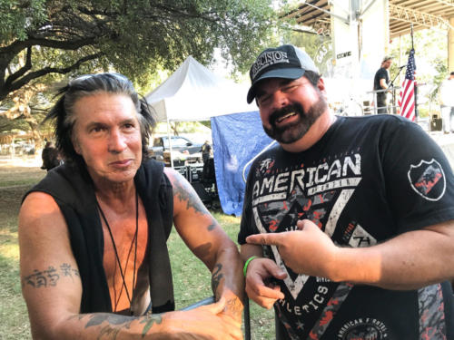 george lynch with greg hagood