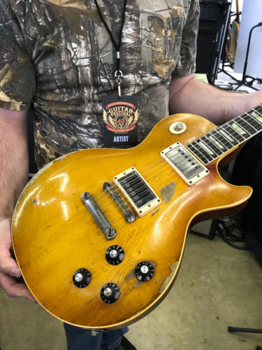 ted nugent's 1959 Les Paul