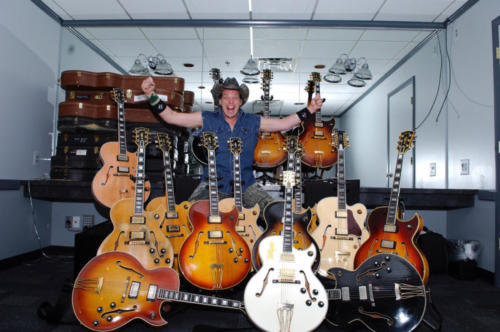 Ted Nugent Collection of Byrdland Guitars