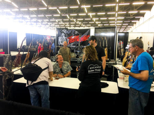 Ted Nugent mingles with fans