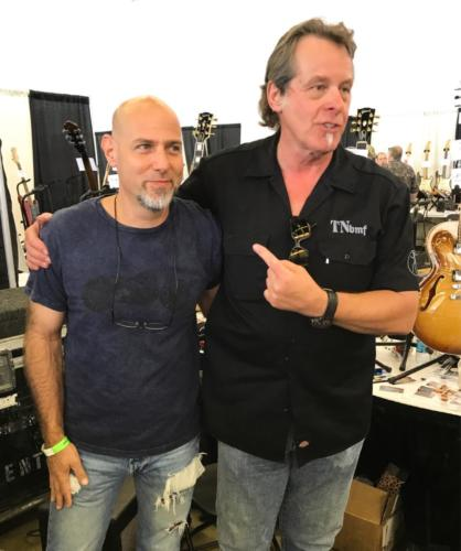 Ted Nugent with Steve Byrdman Lewis, Dallas Guitar Festival 2017