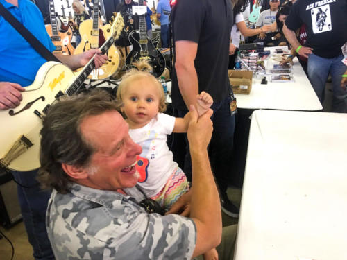 Ted Nugent with little girl