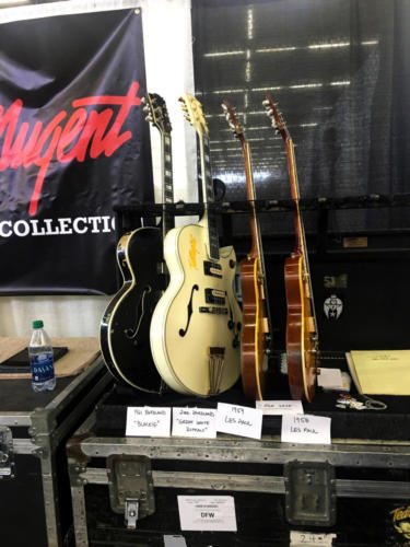 Ted Nugent guitar rack