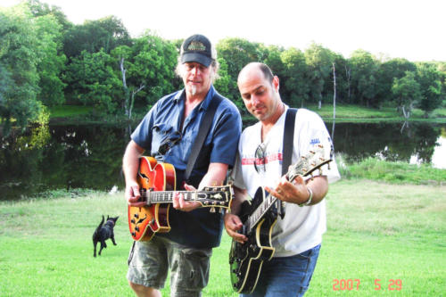 Ted with Byrdman Steve Lewis Waco Tx 2007