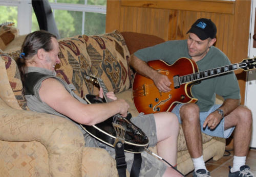 Guitar lessong with Ted Nugent