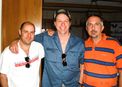 Byrdman Steve Lewis and Brad Kline with Ted at Spirit Wild Ranch 2007