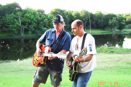 Ted Nugent with Steve Lewis 2007