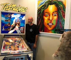 Ted Nugent Pinball Machine
