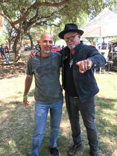 Derek St. Holmes with Steve Byrdman Lewis