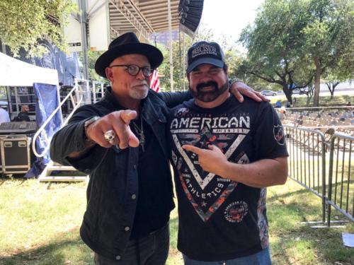 Gregg Hagood with Derek St. Holmes