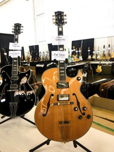 a Byrdland guitar owned by Ted Nugent