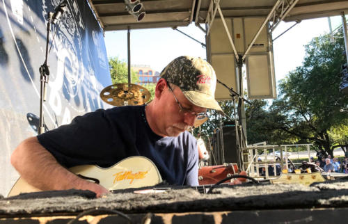 Todd Carlson prepares Great White Buffalo for Ted Nugent