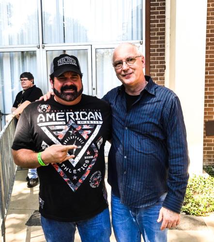 Greg Hagood with Paul Reed Smith