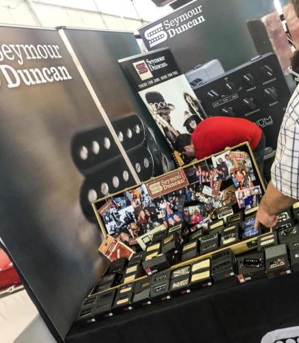 Seymour Duncan guitar pickups Dallas Guitar Show 2017