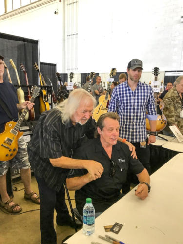 ted nugent and seymour duncan in Dallas 2017