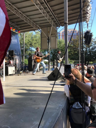 Ted Nugent on stage atTed Nugent takes the stage at The Dallas Guitar Festival 2017