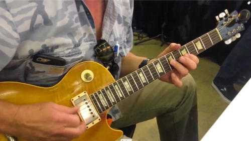 Ted Nugent with 59 LP
