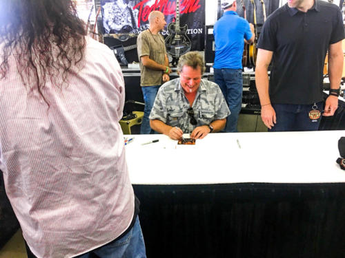 Ted Nugent signs nearly everything