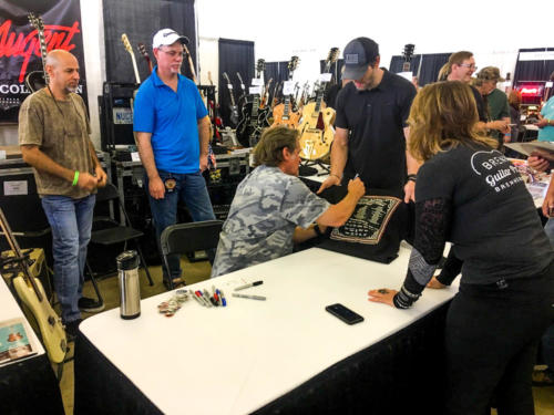 Ted Nugent autographs