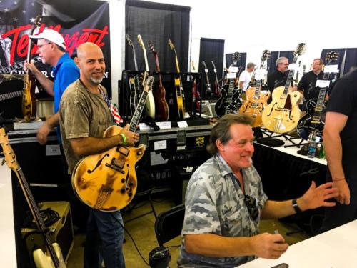 Ted Nugent Byrdman Steve Lewis in Dallas