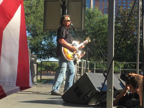 nugent plays guitar festival
