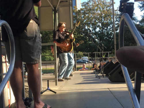 nugent on stage at guitar festival