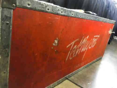 Ted Nugent road case