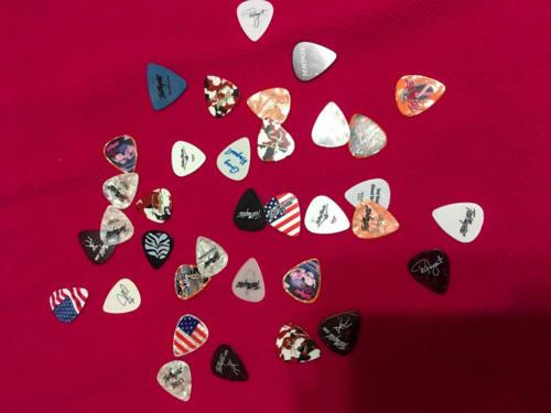 Ted Nugent guitar picks