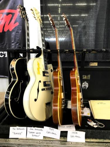 Ted Nugent guitar rack