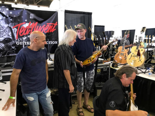 ted nugent with seymour duncan in Dallas
