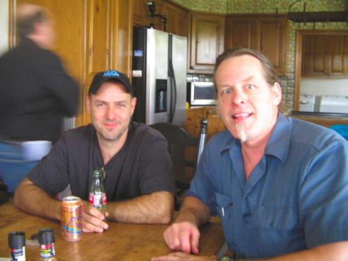 Ted & Byrdman Steve Lewis Spirit Wild Ranch 2007