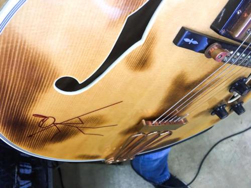 Ted Nugent birthday Gibson Byrdland guitar