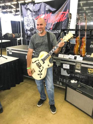ted nugent Great White Buffalo Byrdland guitar