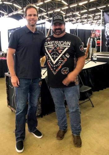 Greg Hagood with Toby Nugent in Dallas