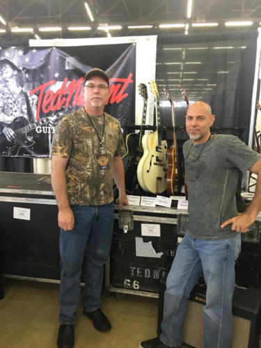 Todd Carlson with Steve Lewis Dallas Guitar Show 2017